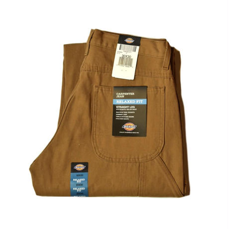 Dickies Relaxed Fit Straight Leg Carpenter Duck Jean - RBD