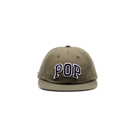POP TRADING COMPANY ARCH SIXPANEL HAT OLIVE GREEN