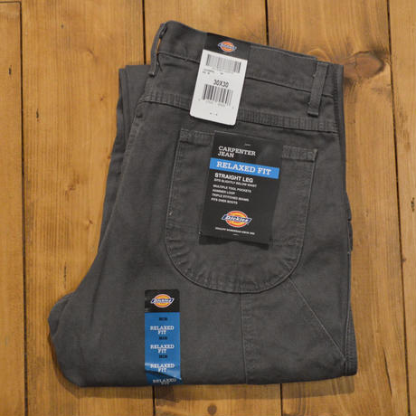 Dickies Relaxed Fit Straight Leg Carpenter Duck Jean - RINSED SLATE