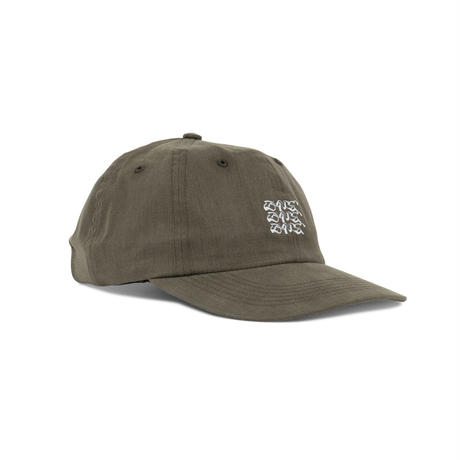DANCER EMBROIDERED TRIPLE LOGO CAP DUSTY OLIVE