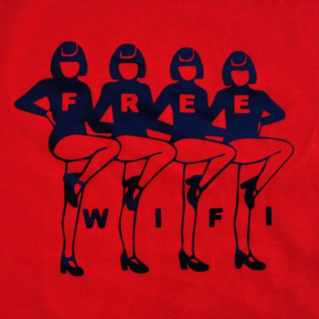 FREE WIFI OPERA TEE RED