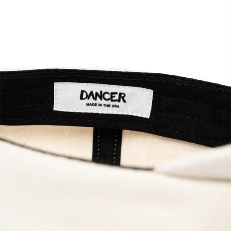 DANCER EMBROIDED APPLE DAD CAP NATURAL
