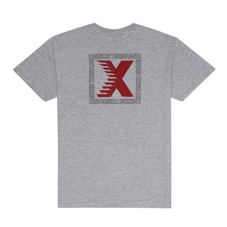 SCI-FI FANTASY X Corp Tee Heather Grey