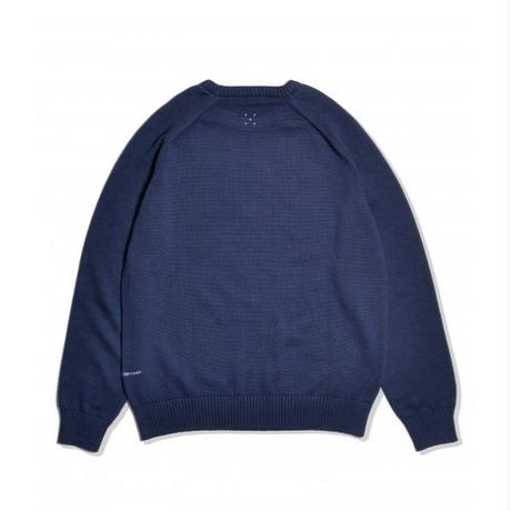 POP TRADING COMPANY POP/EYE KNITTED SWEATER Navy