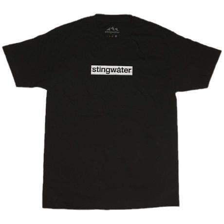 STING WATER Logo t shirt black