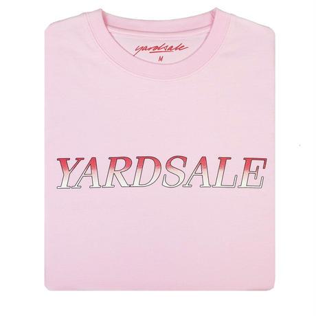 YARDSALE Fade T-shirt Pink