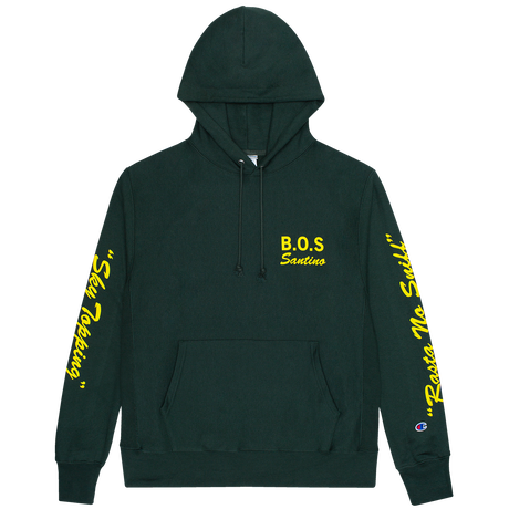 Boys Of Summer  SANTINO PULLOVER HOODIE Dark Green