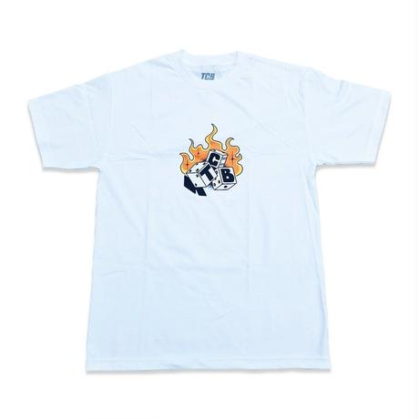 Tall Can Boyz DICE TEE WHITE
