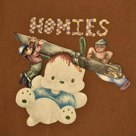 HOMIES NETWORK NOELLE LEE HOODIE BROWN