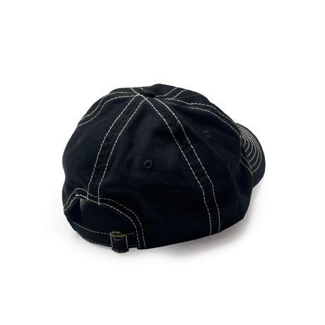 PEELS ROSE HAT BLACK