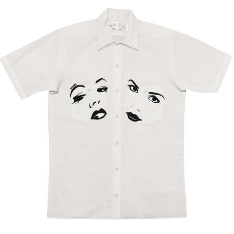 Peels NYC  Face Shirt White