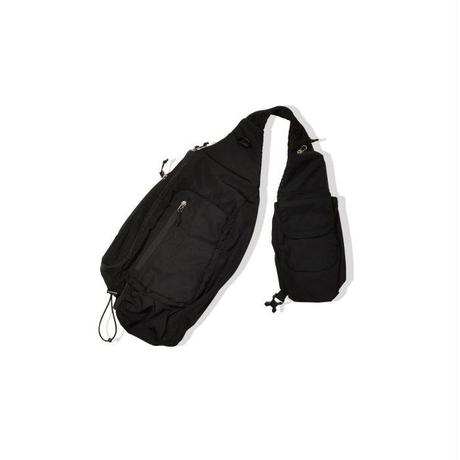 POP TRADING POP SLING BAG BLACK