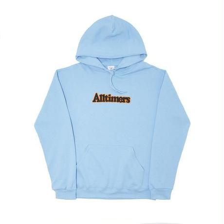 ALLTIMERS BROADWAY HOODY LIGHT BLUE