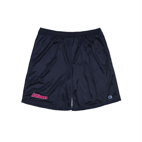 ALLTIMERS BROADWAY EMBROIDERED SHORTS NAVY
