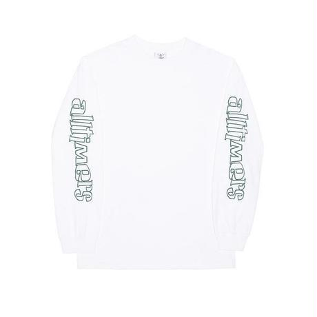 ALLTIMERS  SKA SUCKS LONGSLEEVE TEE WHITE