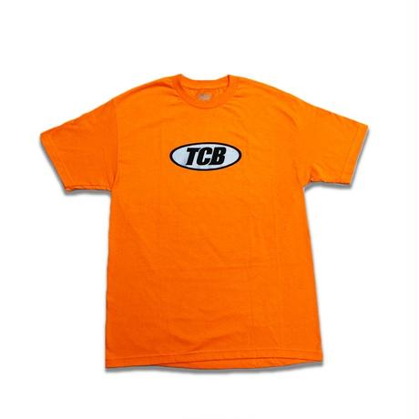 Tall Can Boyz GLITTER OVAL LOGO ORANGE