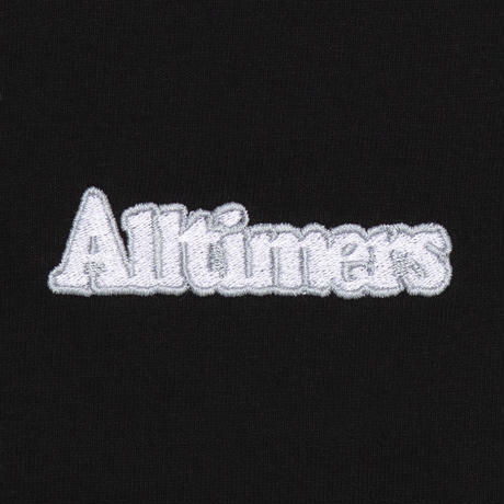ALLTIMERS BROADWAY EMBROIDERED TEE BLACK