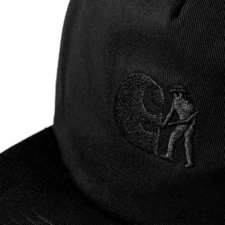 CARHARTT WIP X PASS PORT CAP - Pass Port Black