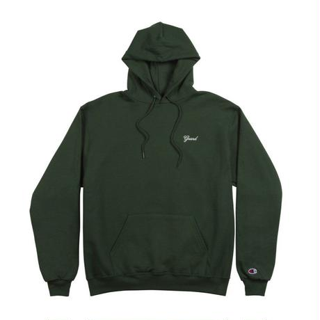 GRAND COLLECTION SCRIPT HOODIE FOREST