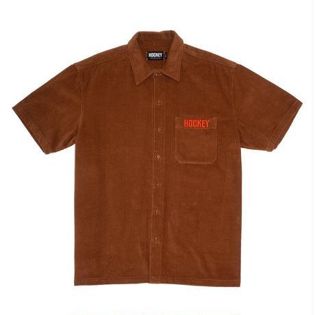 HOCKEY Corduroy Work Shirt Brown