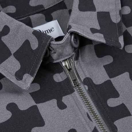DIME PUZZLE TWILL JACKET CHARCOAL