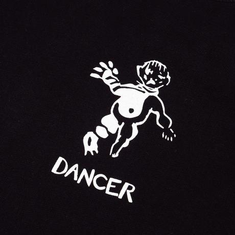 DANCER OG LOGO CREW SWEAT BLACK