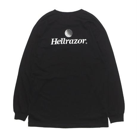 HELLRAZOR  TRADEMARK L/S TEE BLACK