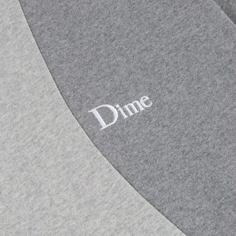 DIME WAVY 3-TONE CREWNECK HEATHER