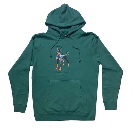 GOOD THINKING Nice Doggie Hoodie Alpine Green