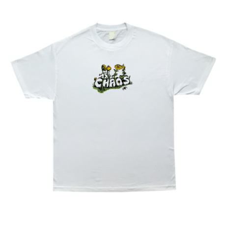 COME SUNDOWN CHAOS S/S TEE  WHITE