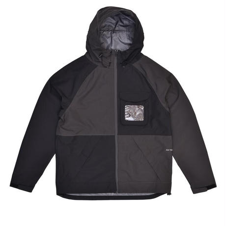 POP TRADING CO ORACLE JACKET BLACK/ANTHRACITE