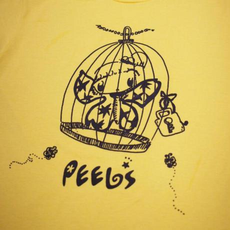 PEELS BIRD CAGE TEE YELLOW