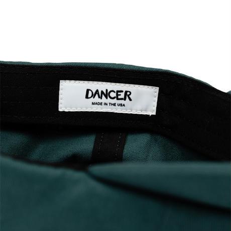 DANCER EMBROIDED APPLE DAD CAP DARK TEAL