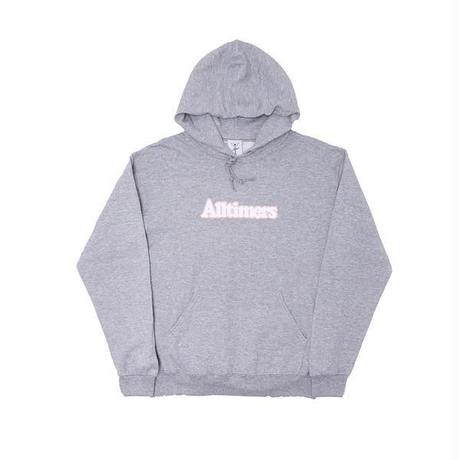 ALLTIMERS BROADWAY HOODY HEATHER GREY