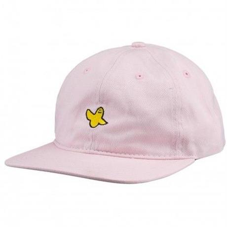 KROOKED YG BIRD UNSTRUCTIRED STRAPBACK HAT PINK