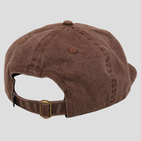 PASS~PORT OVALY 6 PANEL CAP BROWN