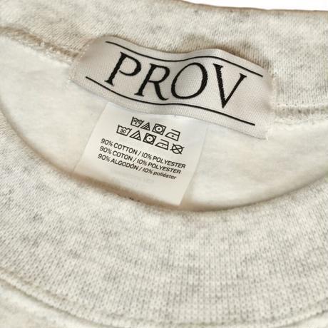 PROV 80s CREWNECK ASH GREY