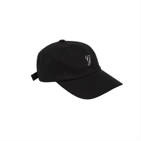 GRAND COLLECTION HERRINGBONE CAP BLACK