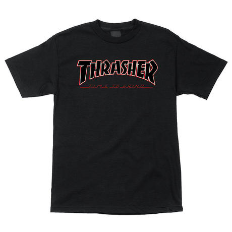 Thrasher TTG Regular S/S Independent Mens T-Shirt Black