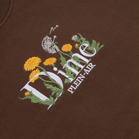 DIME CLASSIC ALLERGIES CREWNECK STRAY BROWN