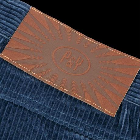 PUNKANDYO CORD SHORTS BLUE