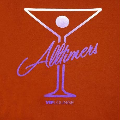 ALLTIMERS PUFF CLASSIC LOGO HOODY TEXAS ORANGE