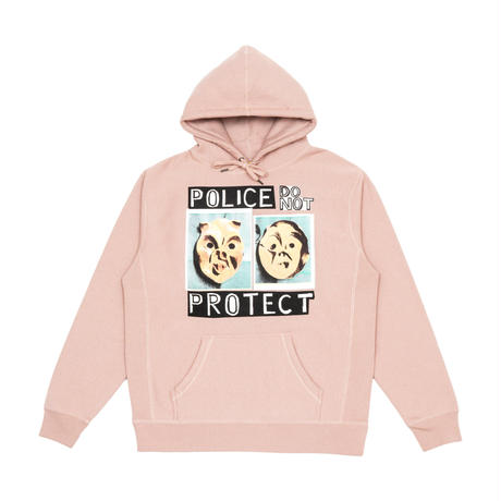IGGY POLICE DO NOT PROTECT HOODIE PINK