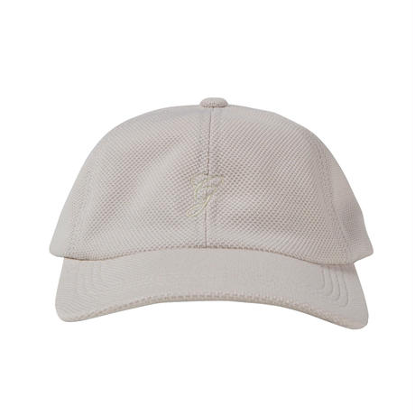 GRAND COLLECTION G SCRIPT KNIT CAP CREAM