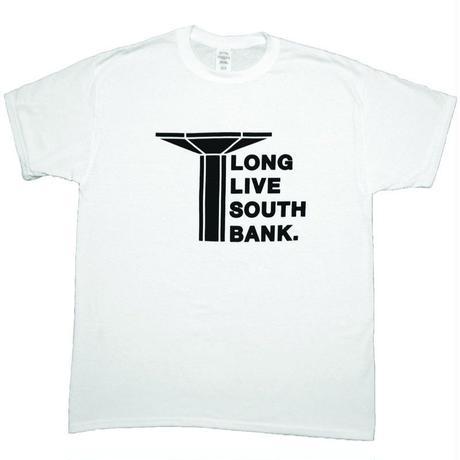 LONG LIVE SOUTHBANK LOGO T-SHIRT WHITE