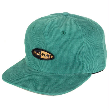 "PASS~PORT ""PHARMY"" CAP TEAL"