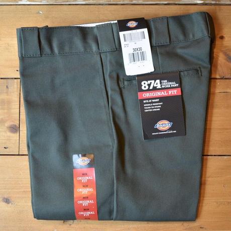 Dickies Original 874 Work Pants - Original Green