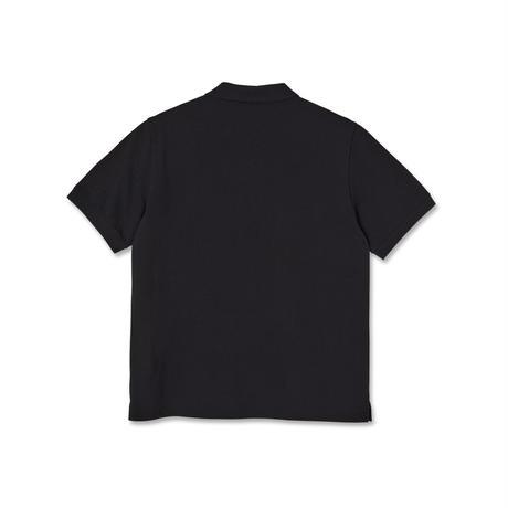 POLAR SKATE CO POLO SHIRT BLACK