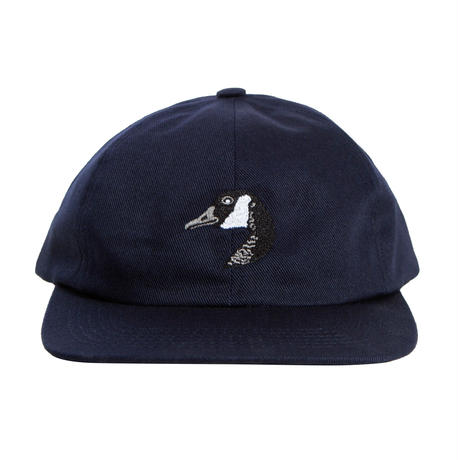 GRAND COLLECTION GOOSE EMBROIDERED CAP NAVY