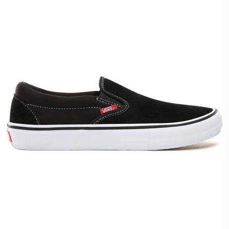 VANS SLIP-ON PRO - BLACK / WHITE